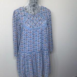 Anthropology women's swing blue dress size 10